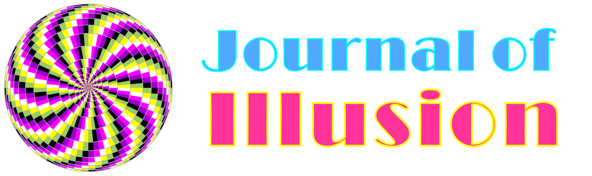 Journal of Illusion logo/header showing the journal name and an optic illusion